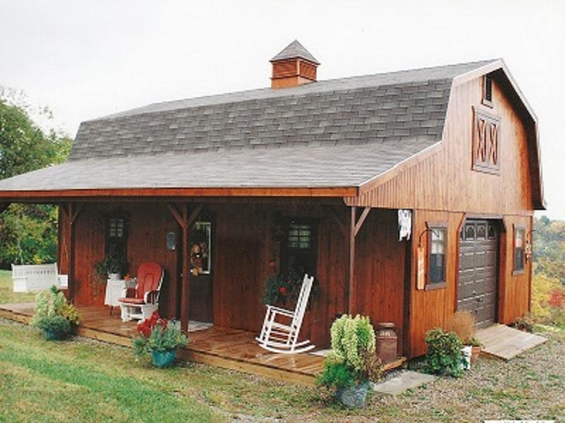 These Amish Barn Homes Start At 11 585 Adorable Living